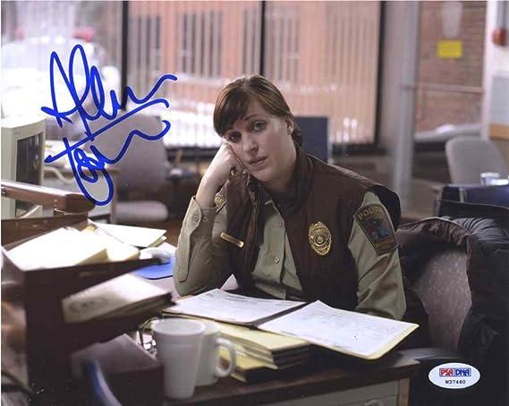 Entertainment Memorabilia Television Allison Tolman Signed In Person 8x10 Photo Autograph Fargo