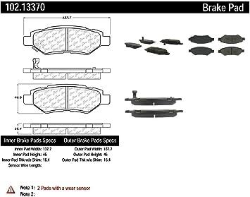 Centric 102.13370 Brake Pad