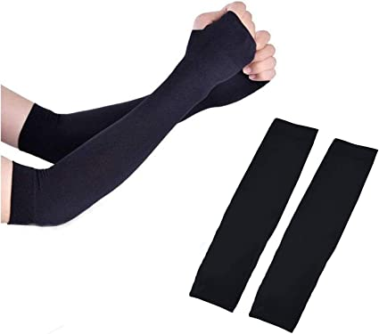 Football and Other Outdoor Sports Basketball AHUAINC UV Protection Arm Sleeves Cycling Volleyball Breathable Baseball SPF 50 Sun Protection Arm Warmers for Men and Women for Running Golf