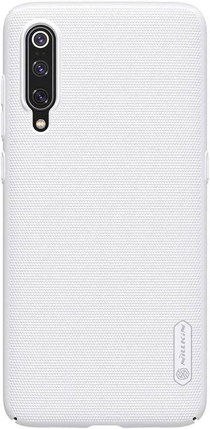 Cover Xiaomi Mi 9 Protezione Rigida Supporto Stand Nillkin Frosted Shield Nero