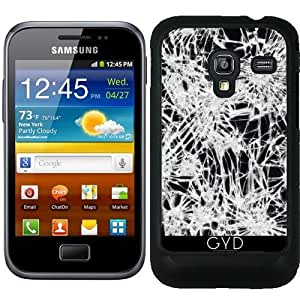 Funda para Samsung Galaxy Ace Plus S7500 - Vidrio Quebrado by wamdesign