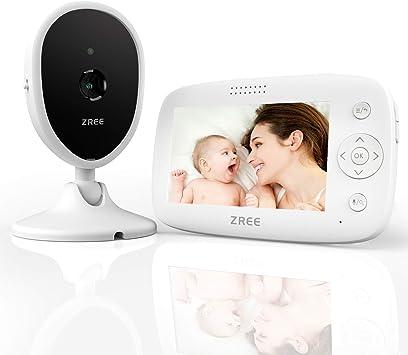 4.3 Zoll LCD Funk babyphone mit kamera Monitor wlan überwachungskamera Video DE