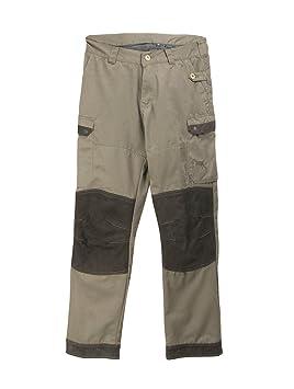 Zerimar Pantalón Caza Hombre | Antiespinos | Resistente el Agua | Piel Pantalón Senderismo | Color: Verde | Talla: L: Amazon.es: Deportes y aire libre