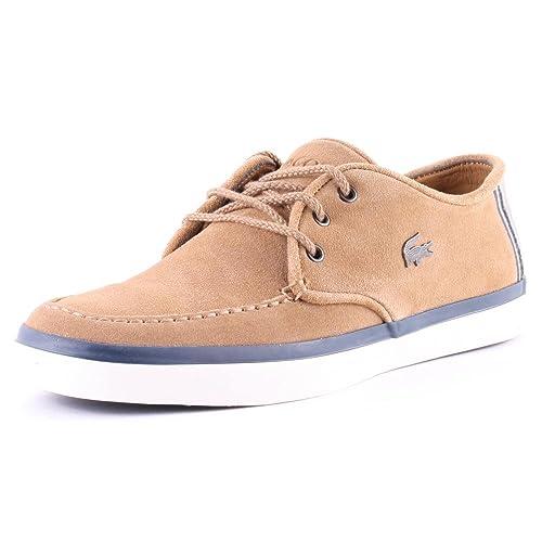 Lacoste Hombres Marino Sevrin 7 SRM Gamuza Zapatillas: Amazon.es: Zapatos y complementos