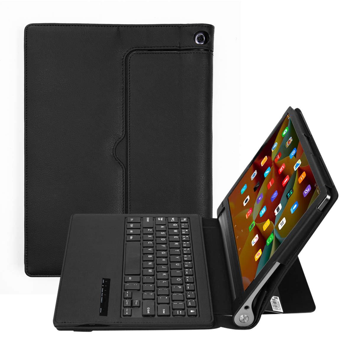 最新な AICEDA Tab3 Lenovo Yoga Tab3 10.1 Pro 10.1 X90F Pro キーボードケース ラグジュアリー PUレザー ウォレット フリップ 保護 フォールリングケースカバー カードスロットとスタンド付き Lenovo Yoga Tab3 Pro 10.1 X90Fキーボードに対応 B07JZ8WN86, 能代市:ff96ec81 --- domaska.lt