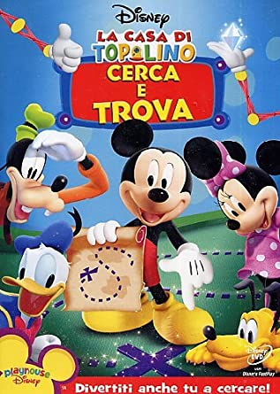 Amazon la casa di topolino cerca e trova acquista in dvd e