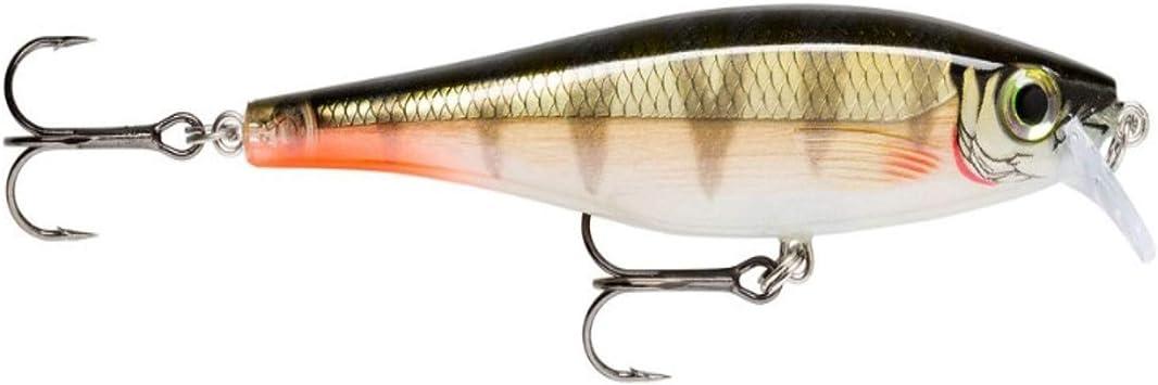 Minnow rapala type x-rap fishing lure black bass tones blaco rockfishing