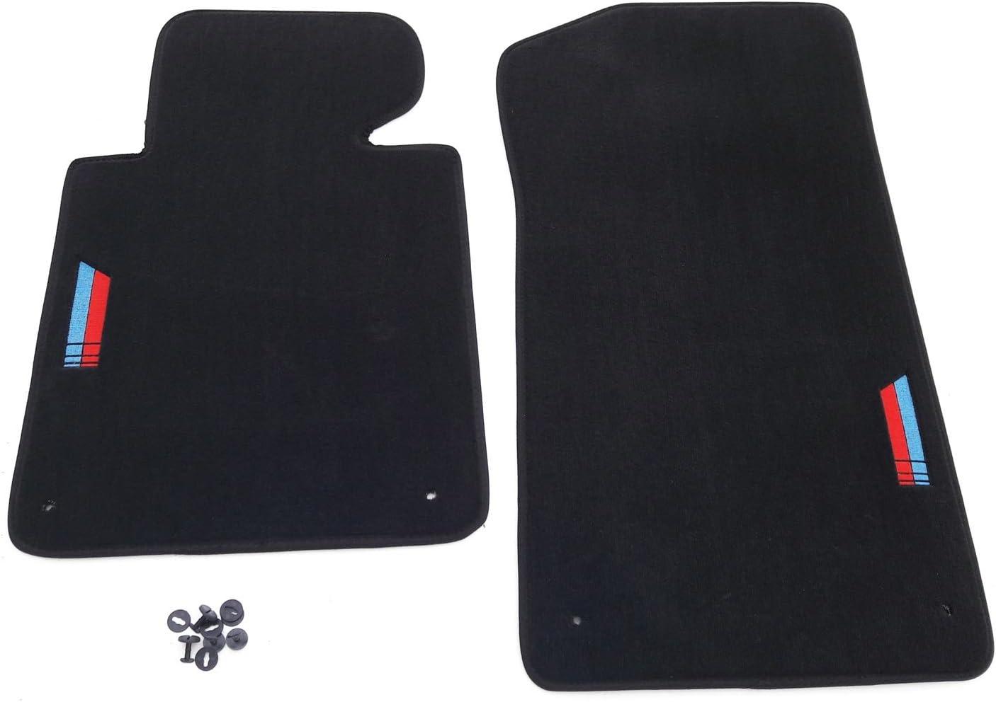 Neuf Tapis de Sol BMW E46 3er M3 Original Qualité Velours Accessoire Auto Noir