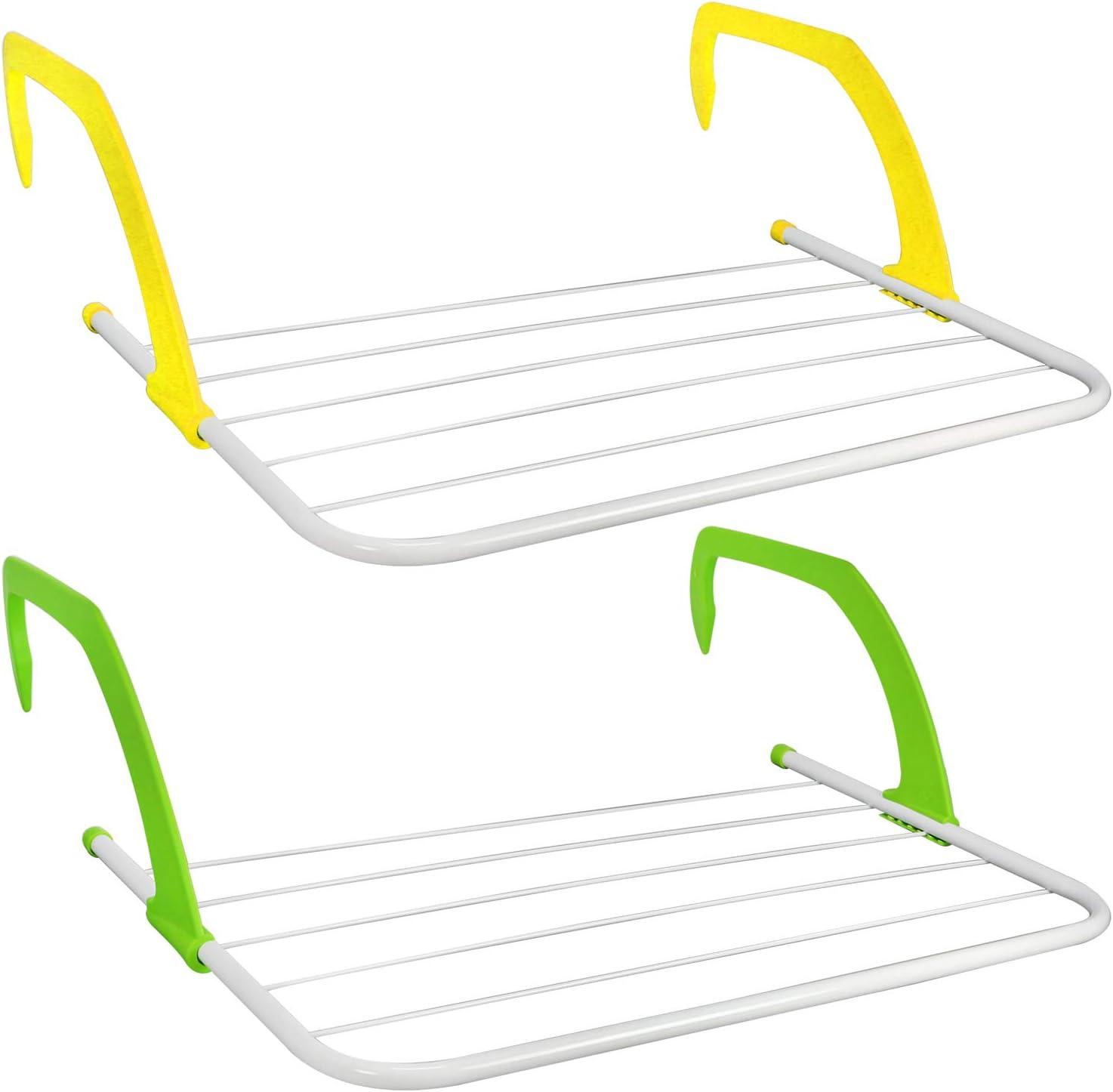 01 Piezas - Coloridas com-four/® Secadora de Camping Percha para Colgar