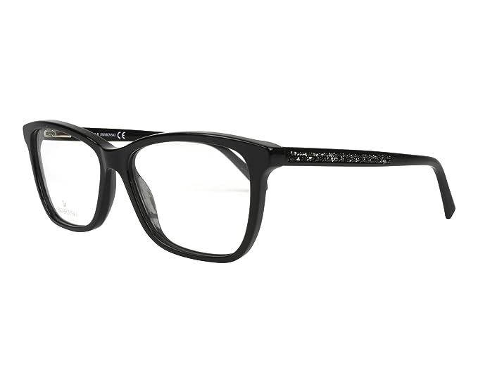 0999e61c41 Image Unavailable. Image not available for. Colour  Swarovski Women s  Prescription Eyewear Frame Black Noir ...