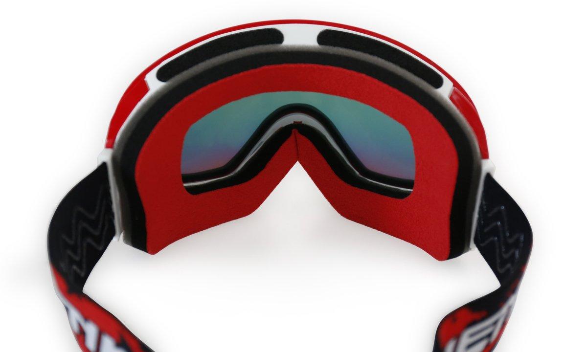 Sports & Outdoors NENKI Ski Goggles NK-1006 & NK-1007 For Men Women With Anti-Fog & 100% UV Protection Lens Snowmobile Snowboard Winter Sports