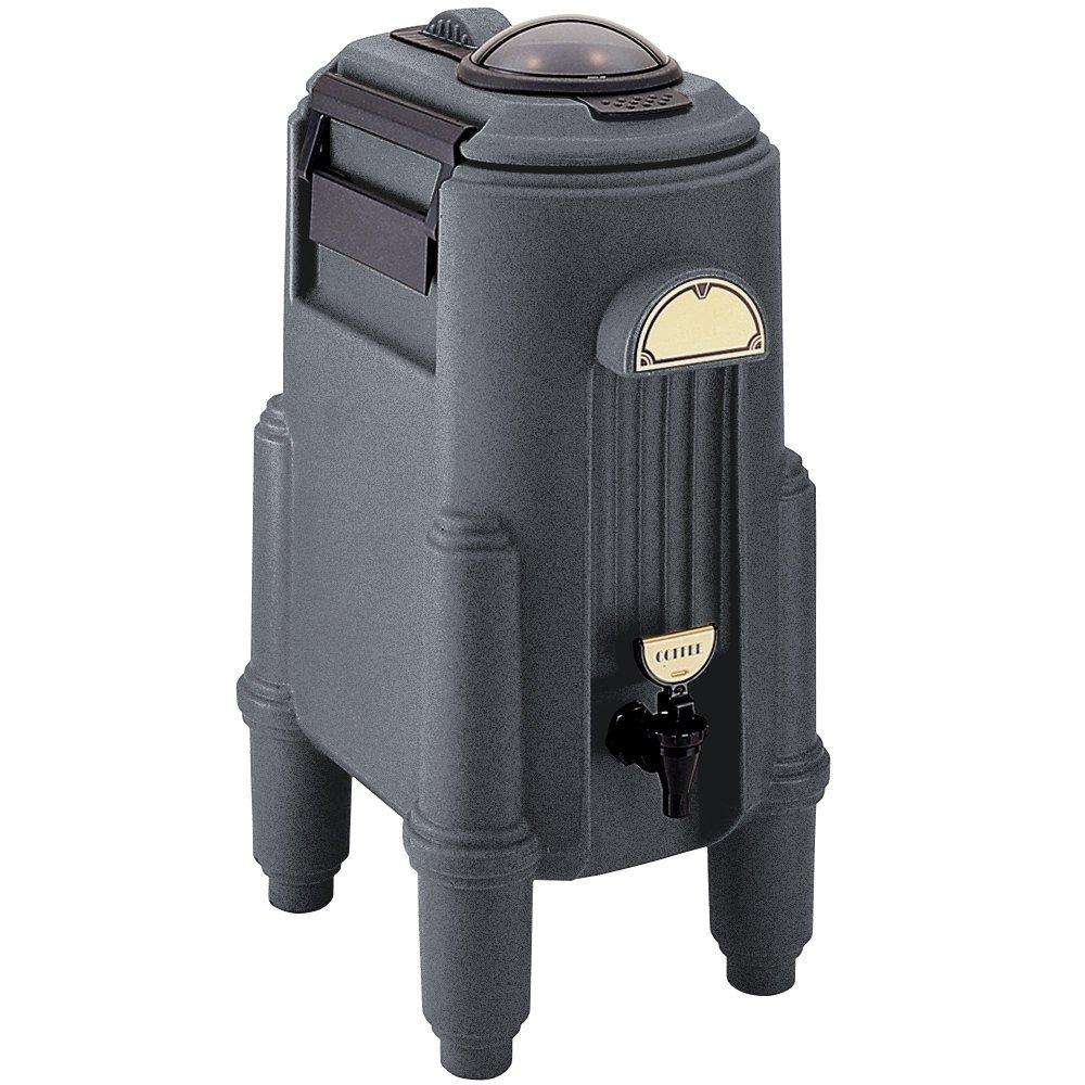 Cambro CSR5191 Camserver 5 Gallon Granite Gray Insulated Beverage Dispenser