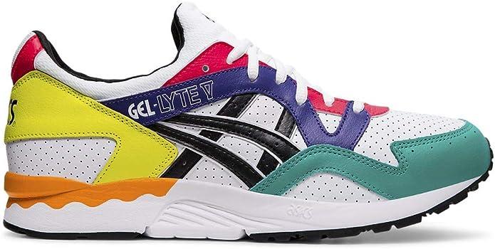 Asics Tiger Gel Lyte V White Black 1191A227-100 Sneaker Shoes Schuhe Herren Men: Amazon.es: Zapatos y complementos
