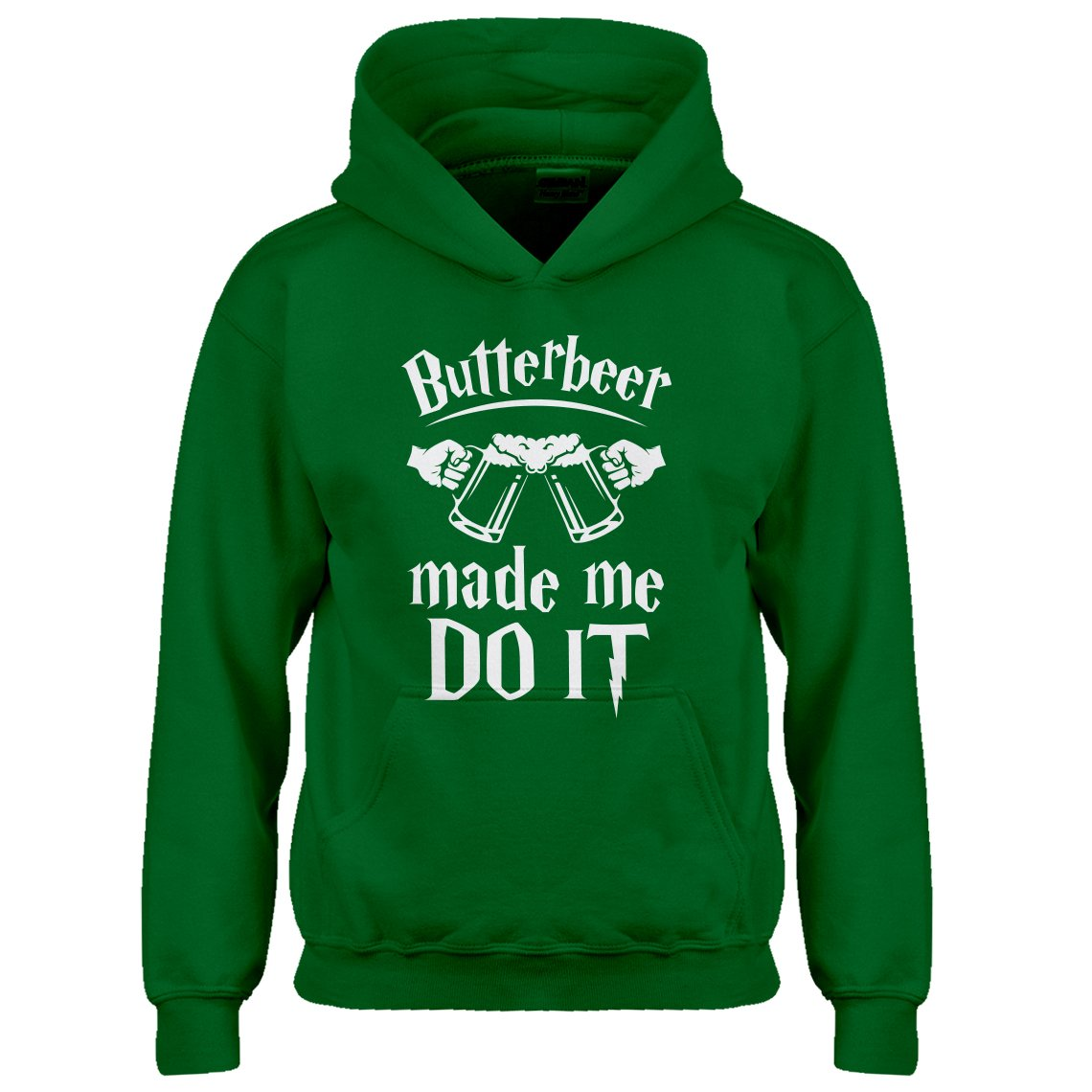 Indica Plateau Butterbeer Made Me Do It Kids Hoodie 3605-Z