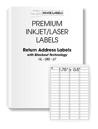 amazon com 1 000 sheets 80 000 labels blackout technology 80