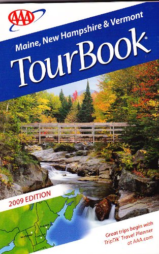 AAA Tour Book: Maine, New Hampshire & Vermont, used for sale  Delivered anywhere in USA