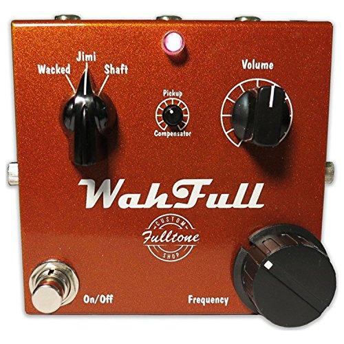 - Fulltone Custom Shop WahFull Fixed Wah Pedal
