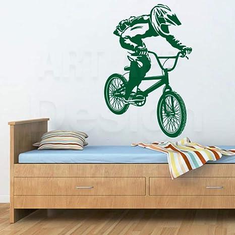 ganlanshu Arte Nuevo diseño decoración de la casa Vinilo Bicicleta ...
