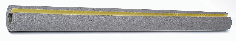 Climapor Rohrisolierungen Kautschuk 15/10, 1/4 Zoll, grau, 1 Stück à 1 m Länge, selbstklebend Saarpor