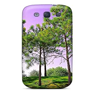 YDq6687NqyO Nature Green Awesome High Quality Galaxy S3 Case Skin