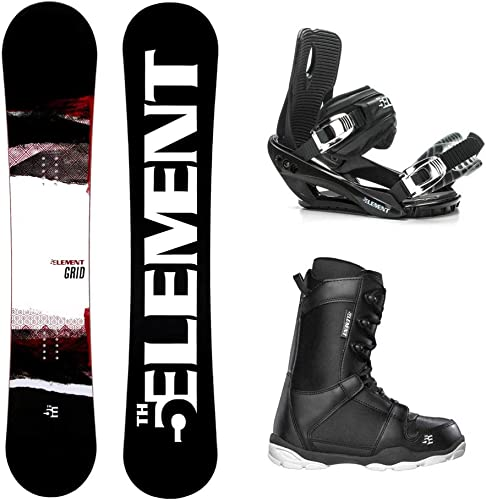5th Element Grid Wide ST-1 Complete Snowboard Package