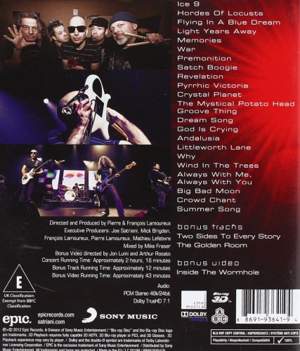 Satchurated: Live in Montreal [3D - Blu-ray]