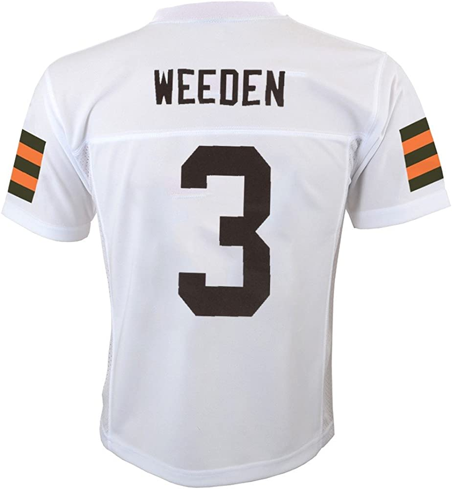 Amazon.com : Outerstuff Brandon Weeden NFL Cleveland Browns Mid ...