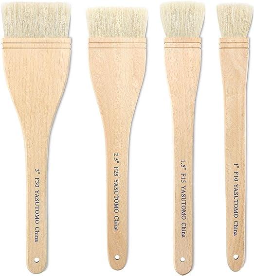 Yasutomo Economy Hake Brushes 4 5//8 in.