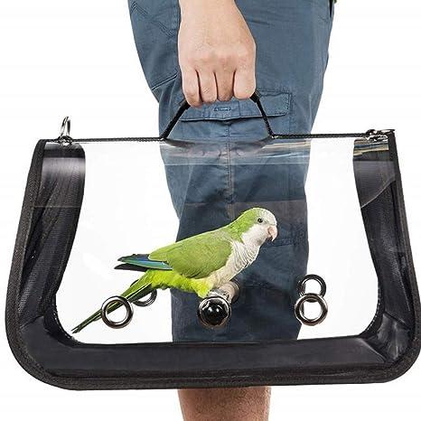 Aesy - Portapájaros Ligero, Jaula de Viaje para pájaros, Nido de ...