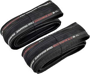 Vittoria Zaffiro Pro G2.0 Graphene Folding Clincher Tire 700x28C, Black, 2 Tire, VT2093
