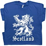Scotland T Shirt Scottish Flag Shirts Lion Logo Crest Ireland Soccer Cool for Mens Women Kids Tee