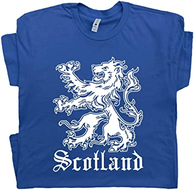 Scottish Scotland Coat Of Arms Country Flag Lion T Shirt