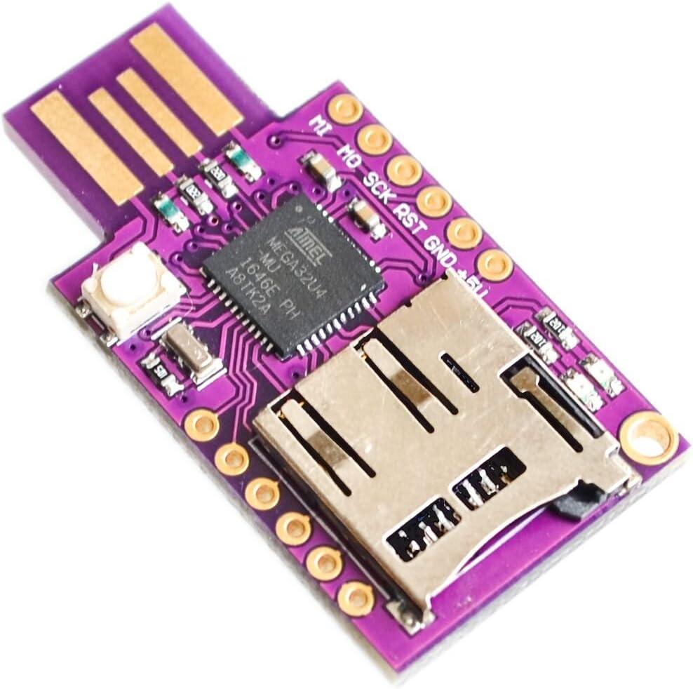 Teclado virtual Badusb Memoria USB TTF Teclado ATMEGA32U4 ...