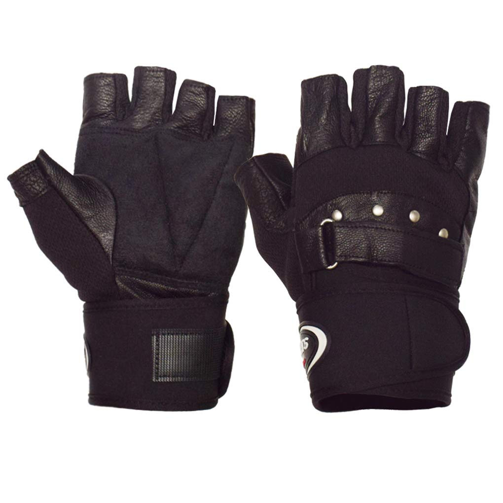 2dbab9082f39f WITERY Men's Winter Leather Gloves Thick Warm Fleece Windproof Gloves Cold  Proof Thermal Mittens - Ideal for Dress Driving Cycling Motorcycle Camping  etc