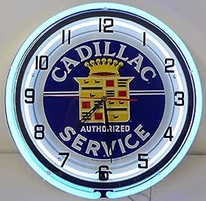 Amazon.com: Cadillac 18 Double Neon Clock Service Parts ...