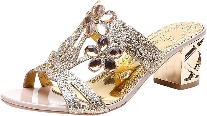 WINJIN Sandales Tongs Chaussure Femmes D'éTé Grosses