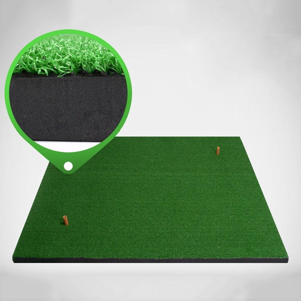 ZB 屋内ゴルフヒットパッドファミリー練習マットスイングエクササイザー費用対効果の高いより厚いバージョン1CM / 2CM A+ (色 : 2cm, サイズ さいず : 50cm*80cm) 50cm*80cm 2cm B07JKVVSHX