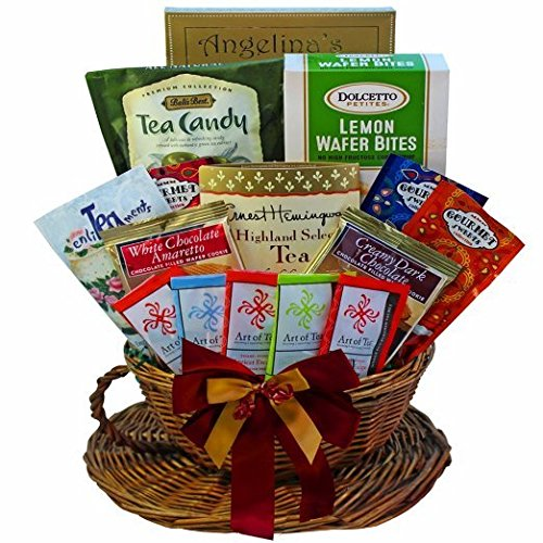 You're My Cup of Tea Gourmet Snacks Gift Basket (Gourmet Tea Baskets)