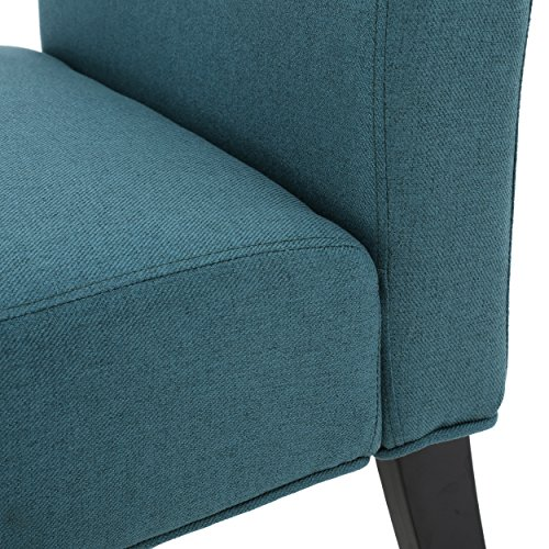 Christopher Knight Home 299752 Kassi Accent Chair, Dark Teal - 5