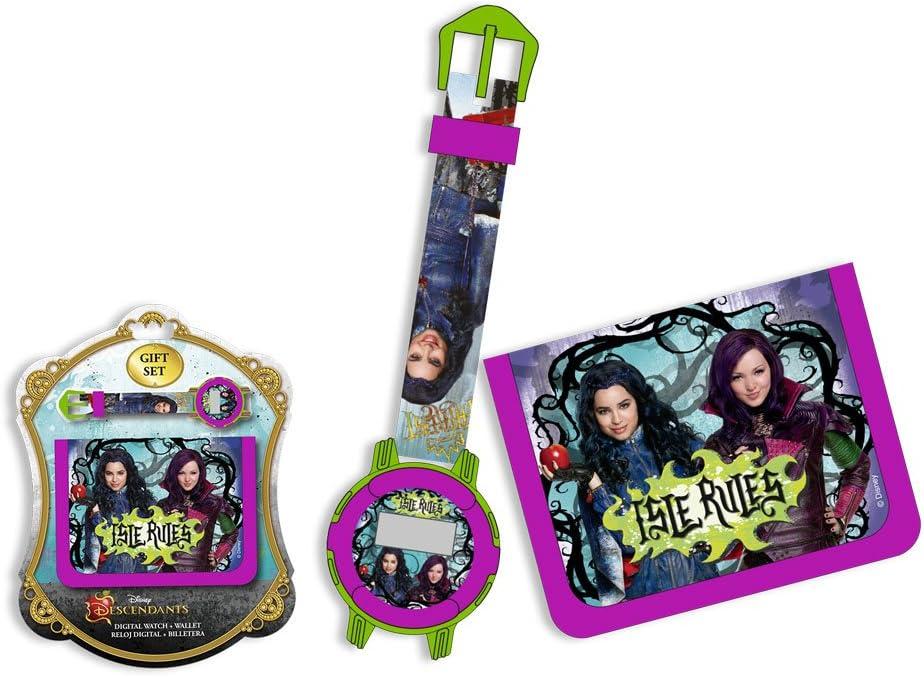 Set de cartera y reloj digital de Descendientes