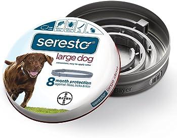 Bayer Animal Health Flea and Tick Collar for Large Dog