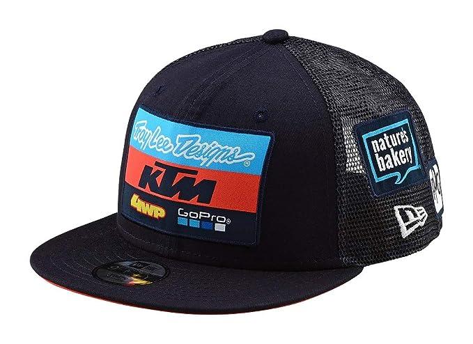 Troy Lee Designs Gorra Snapback para Niños KTM Team Azuloscuro (Default 062cb47560f