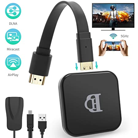 ZCVB WiFi Display Dongle para TV 2.4G Wireless 1080P HD Pantalla ...