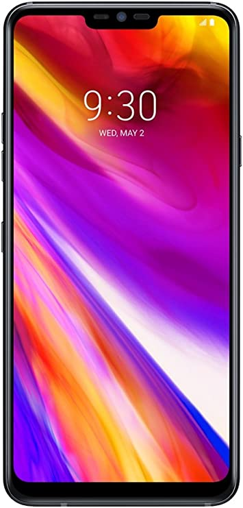 LG G7 ThinQ Dual SIM 64GB 4GB RAM G710EMW Negro SIM Free: Amazon ...