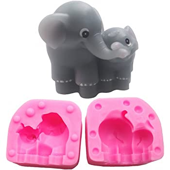Amazon.com: Elephant Lollipop Chocolate Candy Mold 697