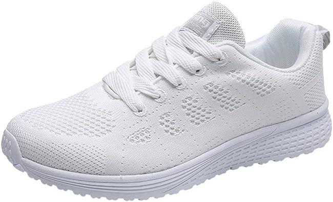 Zapatillas Respirable Deportes para Mujer, QinMM Running Sandalias ...