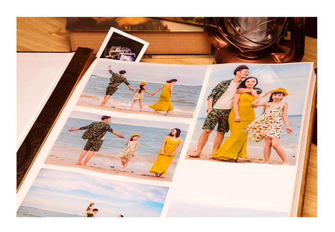 Álbum de fotos, álbum de de recortes, para viajes, vacaciones, 700 hojas de de memoria, álbum de fotos, álbum de notas, área de escritura decorativa, para viajes Style 1 652393