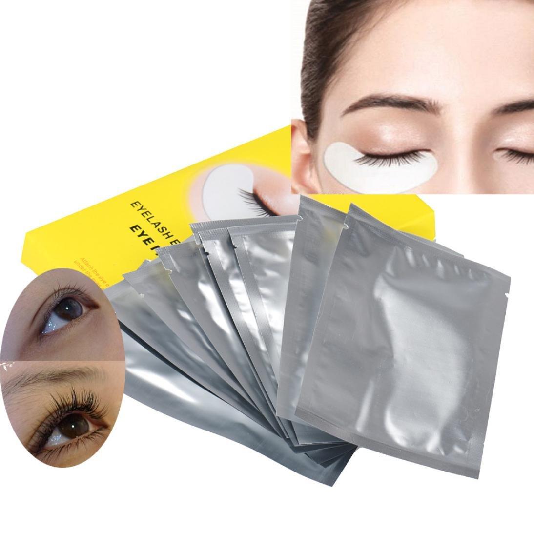 kingko® 10pair Lint Under gratuit Eye Gel Collagène Patches Pads Pour Lash Cils Extension