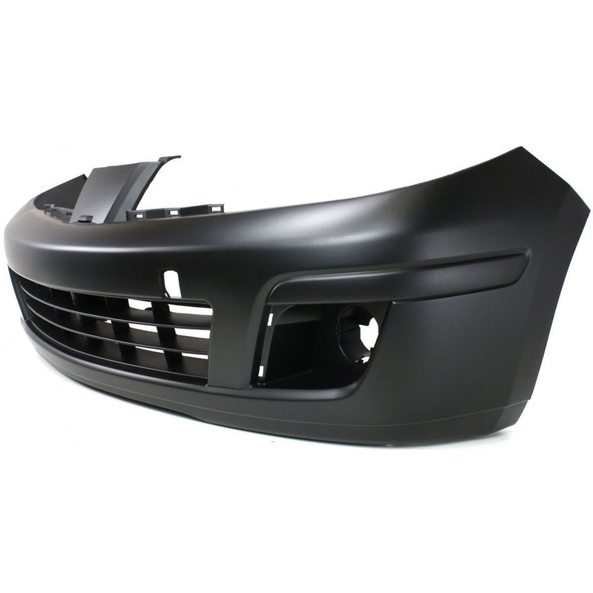 Front Bumper Cover Fascia Replacement for 2007 2008 2009 2010 2011 2012 Nissan Versa 07-12 NI1000245 Painted to Match MBI AUTO