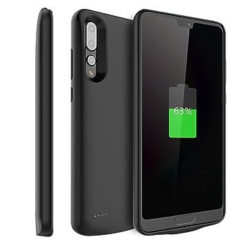 Funda Huawei P20 Pro Bateria, 6000mAh Recargable Externa Portátil Batería Cargador Pack Power Bank Integrada Backup Alta Capacidad Extra de Batería ...
